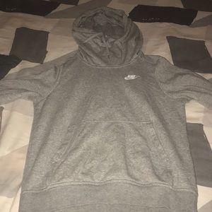 Grey Nike hoodie I ACCEPT OFFERS.